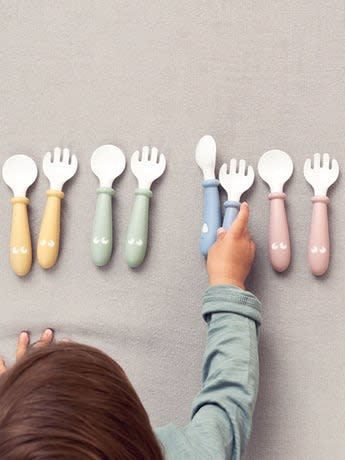 BabyBjorn BabyBjorn Baby Spoon & Fork 4-pack