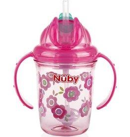 Nuby Nuby Tritan Flip N Sip 240ml 12m+ Straw Cup