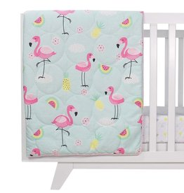Lolli Living Lolli Living Flamingo All seasons cot quilt
