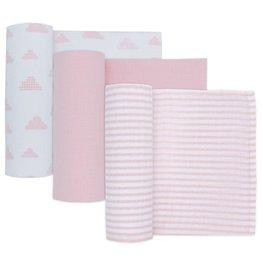 Living Textiles Living Textiles 3-pack Muslin wraps (100 x 100cm)