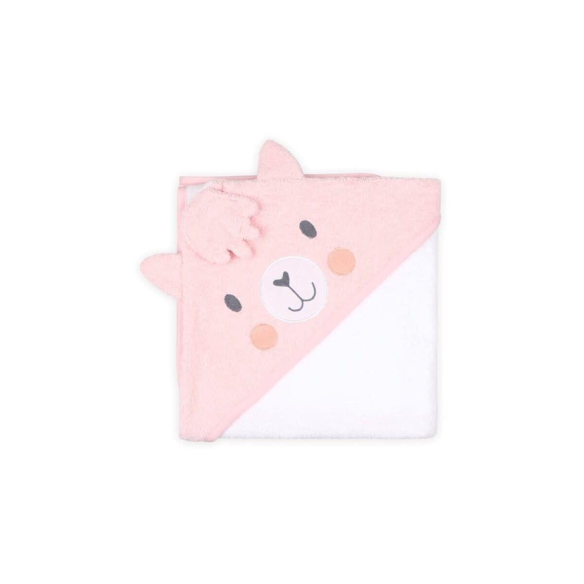 Little Haven Little Haven Hooded Towel Character Llama