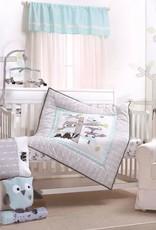 Little Haven Little haven Treehouse 4Piece Cot Set(Quilt, FS, Pillow Case and Throw Pillow )