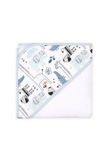 Little Haven Little Haven Hooded Towel Print-Safari