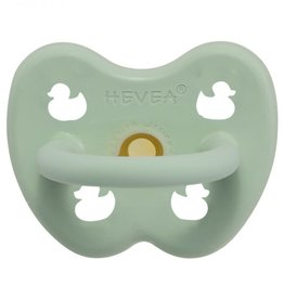 Hevea Hevea - Colour Pacifier - Round - Mellow Mint - 0 to 3 months