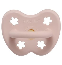 Hevea Hevea - Colour Pacifier - Round - Powder Pink - 0 to 3 months