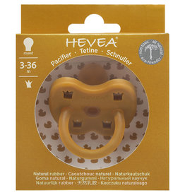 Hevea Hevea - Colour Pacifier - Orthodontic - Turmeric - 3 to 36 months