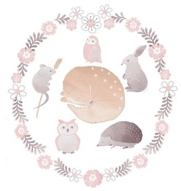 Lolli Living Lolli Living Forest Friends Wall decal set