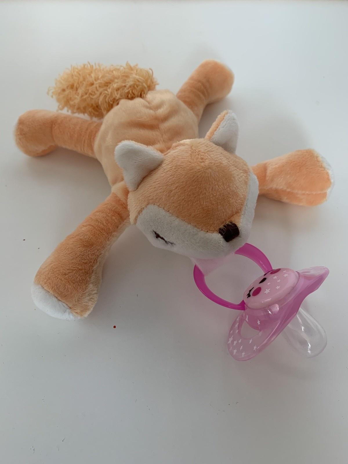 BibiPals BibiPals FOXY: Sleepy Golden Fox Plush