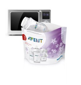 Avent Avent Microwave Sterilizing Bags 5P