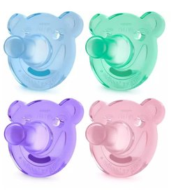 Avent Avent Bear Soothie 3m+ 2pk