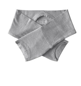 Bamboo Bubby Bamboo Bubby Eczema Mitten Sleeves Grey Marle