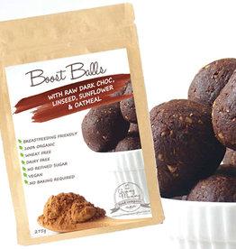 The Yummy Mummy Food Company The Yummy Mummy Boost Balls with Raw Dark Choc, Linseed, Sunflower & Oatmeal