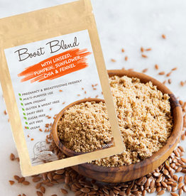 The Yummy Mummy Food Company The Yummy Mummy Boost Blend with Linseed, Pumpkin, Sunflower, Chia & Fennel