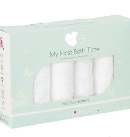 CuddleCo Cuddle Co Comfi Love My First Bathtime White