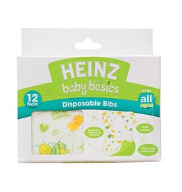 Heinz Baby Basics Heinz BB Disposable Bibs - 12pk