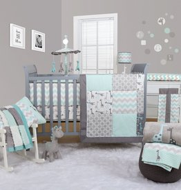 The Peanut Shell The Peanut Shell Uptown Giraffe 5 Piece Set