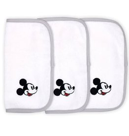 The Peanut Shell Disney Mod Mickey 3 Pk Wash Cloths