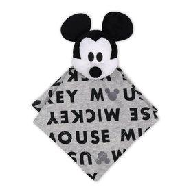 The Peanut Shell Disney Mod Mickey Letter Print Security Blanket