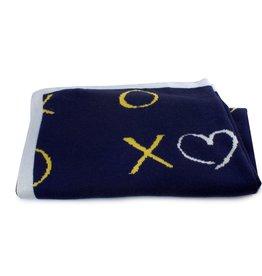 Bubba Blue Bubba Blue Night Sky Bamboo Knit Blanket