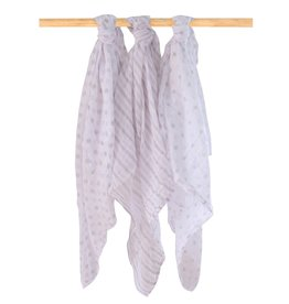 Bubba Blue Bubba Blue Everyday Essentials 3 pk Muslin Wrap
