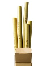 Eco Rascals Eco Rascals 5 bamboo straws set