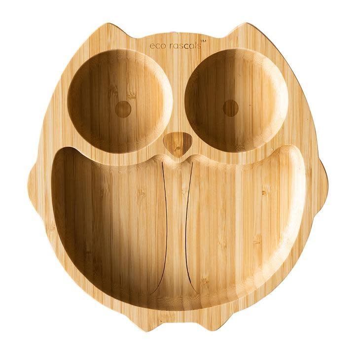 Eco Rascals Eco Rascals Owl Plate