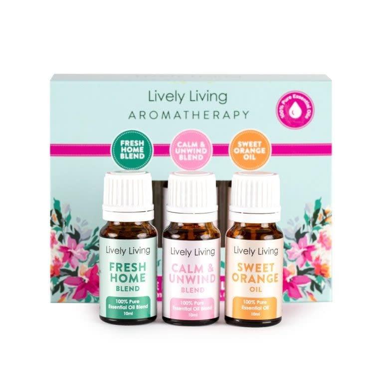 Lively Living Lively Living Home Essentials Kit Trio Set