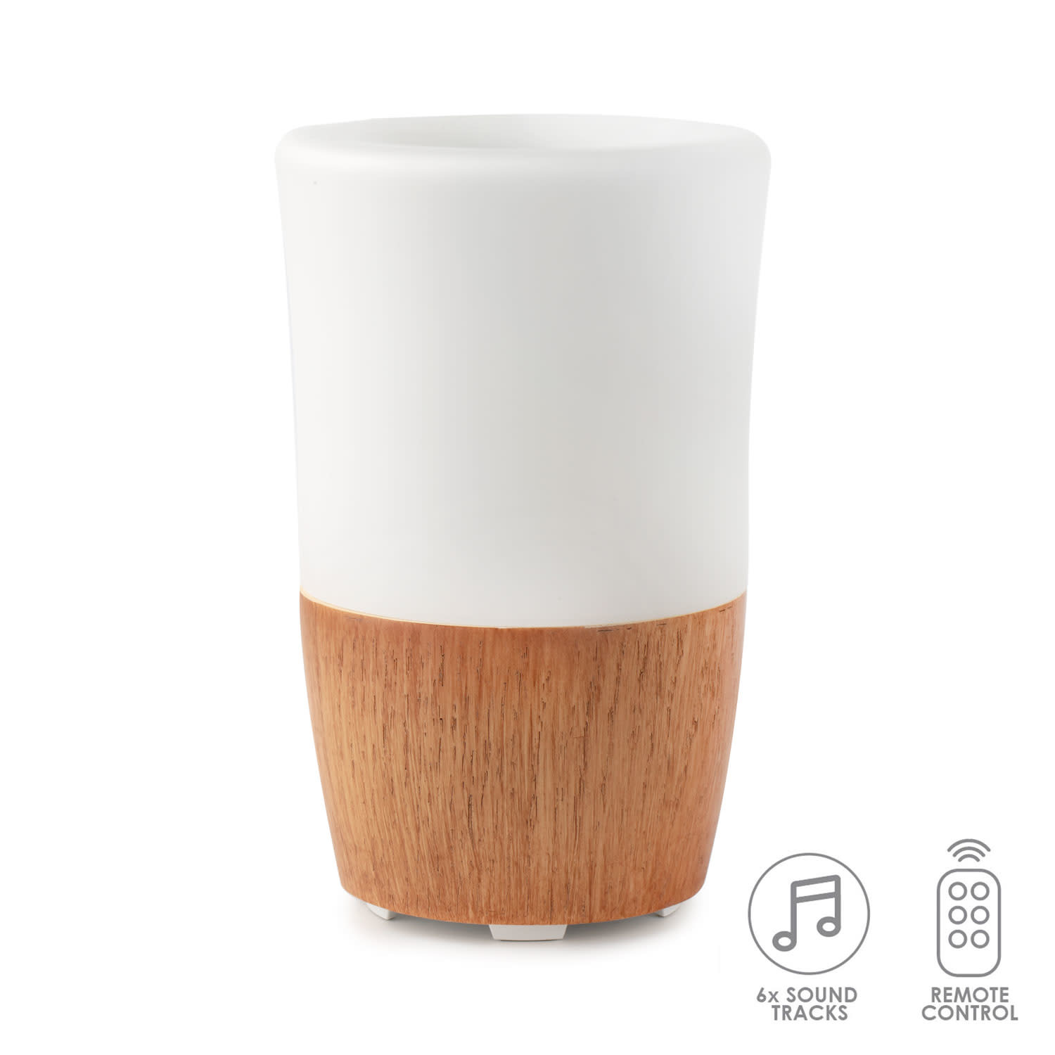 Lively Living Lively Living Aroma Sound Resin/Glass with 6 sound tracks + remote