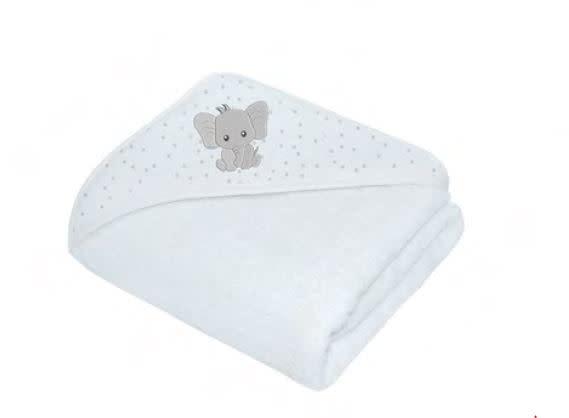 Living Textiles Living Textiles Savanna Hooded Towel - Elephant