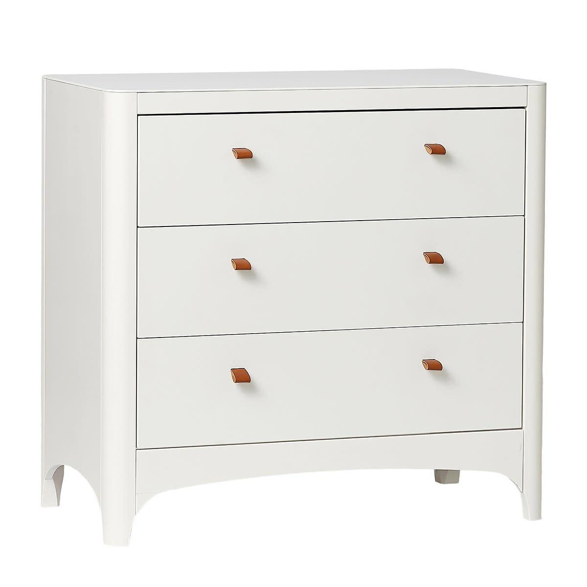 Leander Leander 3 Drawer Dresser - White