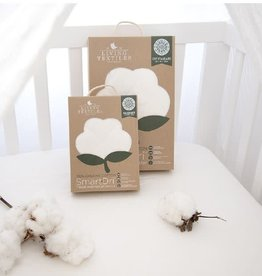 Living Textiles Living Textiles Organic Smart-Dri Waterproof Mattress Protector - Cradle
