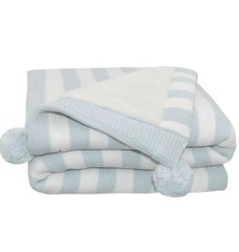 Living Textiles Living Textiles Pom Pom Sherpa Blanket