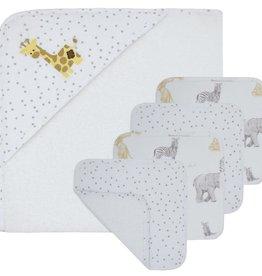 Living Textiles Living Textiles 5pc Bath Gift Set Savanna Babies/Dots
