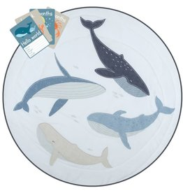 Lolli Living Lolli Living Round play mat with Milestone card - Oceania