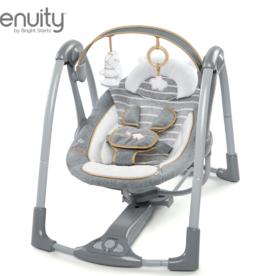 Ingenuity Ingenuity Swing n Go Boutique Portable Swing - Bella Teddy