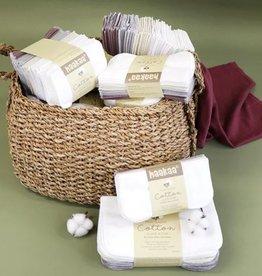 Haaka Haakaa Cotton Cloth Wipes (8pcs) 8 x 8 inches