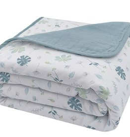 Living Textiles Living Textiles Organic Muslin Cot Blanket