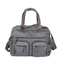 oioi OiOi Denim Grey Carry All Nappy Bag