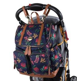 oioi OiOi Multi Pocket Diaper Bag Botanical Floral