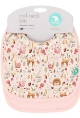 All4Ella All4Ella Roll Neck Bib 2pk