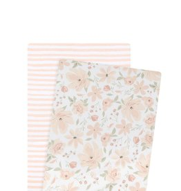 Lolli Living Lolli Living 2pk Bassinet Fitted Sheet - Meadow