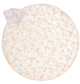 Lolli Living Round play mat with Milestone card - Meadow
