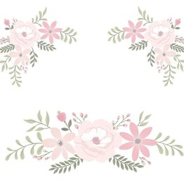 Lolli Living Lolli Living Wall decal set - Meadow