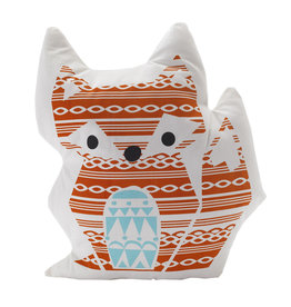 Lolli Living Lolli Living Knitted character cushion - Fox/Woods