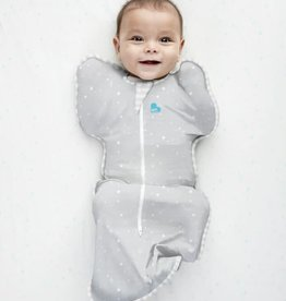 Love To Dream Love To Dream Cotton Swaddle UP Lite 0.2 Tog Grey