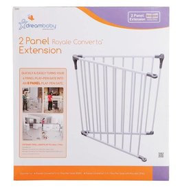 Dreambaby DreamBaby 2 Panel Royale Converta Extension