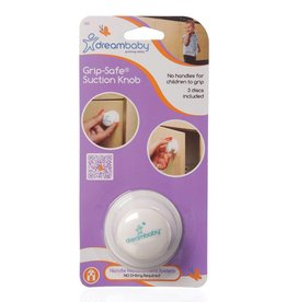 Dreambaby Dreambaby Grip-Safe Suction Knob
