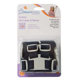 Dreambaby DreamBaby Safety Harness & Reins - Navy