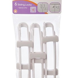 Dreambaby Dreambaby Sliding Locks 6 Pack