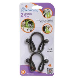 Dreambaby DreamBaby Stroller Clip 2 Pack